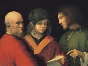 Giorgione_-_Three_Ages_of_Man_-_Palazzo_Pitti