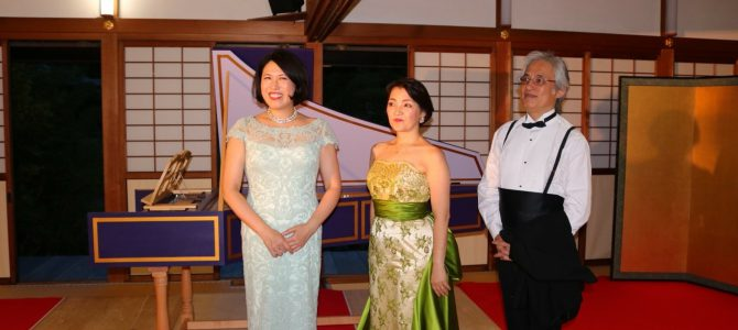 『花咲く庭園  II』 奈良公演 終演